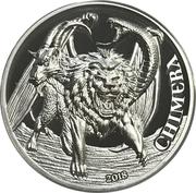 1500 shillings Chimère – revers