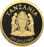 1500 Shillings (Big - Lion) – avers