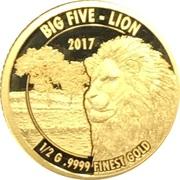 1500 Shillings (Big - Lion) – revers