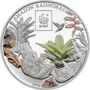 100 Shilingi (WWF Amazon Rainforest) – revers