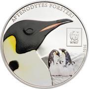 100 Shilingi (WWF Emperor Penguin (Aptenodytes forsteri)) – revers