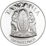 100 shillings Sabot de Vénus – avers
