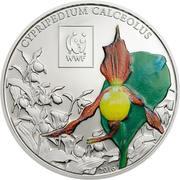 100 shillings Sabot de Vénus – revers