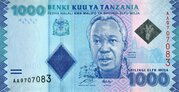 1.000 Shilingi / Shillings – avers
