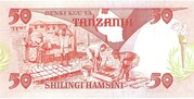 50 Shillings – revers