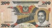 200 Shilingi – avers