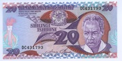 20 Shilingi -  avers