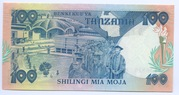 100 Shilingi – revers