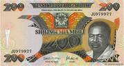 Tanzania 200 Shillingi 1992 – avers