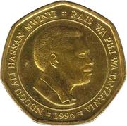 50 shilingi – avers