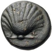 Calabre - Tarente - Unité de bronze Æ15 – avers