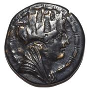 Bronze Æ21 (Tarsos) – avers