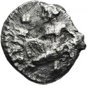 Obol - Cilicia, Tarsos (Female, tossing astragaloi) – avers