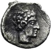 Obol - Cilicia, Tarsos (Female, tossing astragaloi) – revers