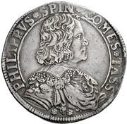 1 scudo - Filippo – avers