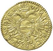 1 ducat, ongaro Agostino Spinola – revers