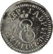 2 Kopeks - Ekaterina II – avers