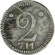 2 Kopeks - Ekaterina II – revers