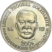 200 francs (Martin Luther King Jr.) – avers