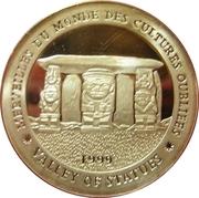 1000 Francs (Parc archéologique de San Agustín) – revers