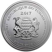500 francs (Scorpion rôdeur mortel) – avers