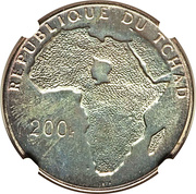 200 francs (Général De Gaulle) – avers