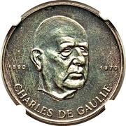 200 francs (Général De Gaulle) – revers
