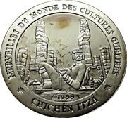 1000 Francs (Chichén Itzá) – revers