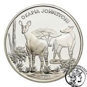 1000 Francs (Okapi) – revers