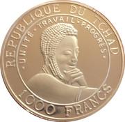 1000 francs (Coupe du monde de football France 1998) – avers