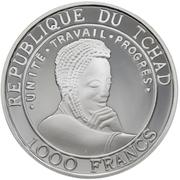 1000 Francs  (Galileo) – avers