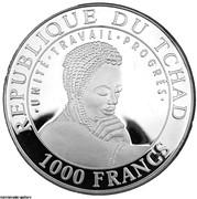 1000 Francs (Jéricho) – avers