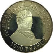 1000 Francs (Persepolis) – avers