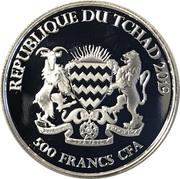 500 francs CFA (Renard) – avers