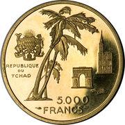 5000 francs (Général Leclerc) – avers