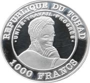 1000 francs (Coupe du monde de football Argentine 1978) – avers