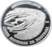 1000 francs (Coupe du monde de football Argentine 1978) – revers