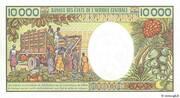 10 000 Francs – revers