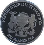 500 francs CFA (Saumon) – avers