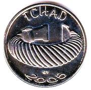 1500 CFA / 1 africa (Tchad) – avers