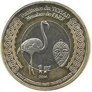 1 Franc (Tchad) – avers