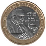 4500 Francs CFA / 3 Africa – avers
