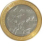 4500 francs CFA – avers