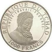 1000 Francs (Stonehenge) – avers