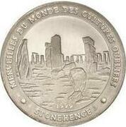 1000 Francs (Stonehenge) – revers