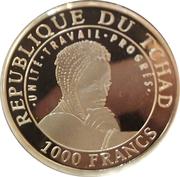 1000 Francs (Machu Picchu) – avers