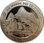1000 Francs (Machu Picchu) – revers