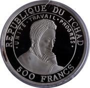 500 francs (Millénaire) – avers