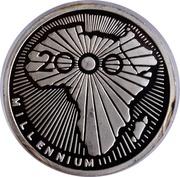 500 francs (Millénaire) – revers