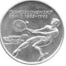 500 korún (Tennis) – revers